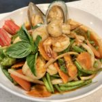 """MIXED SEAFOOD<span class=""""spicy""""></span>"""