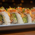 FLAMING SALMON ROLL *