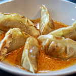 """POT STICKERS <span class=""""spicy""""></span>"""